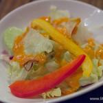 ステーキハウスB&M - サーバーサービスのサラダ 【2014年12月】