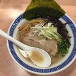麺処 湊生 - 150103 豚骨ラーメン
