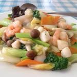 シン成 - 海鮮野菜炒め_鑫成_¥580