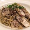 アフタヌーンティー・ティールーム - 料理写真:豚肉とエリンギの黒ゴマパスタ