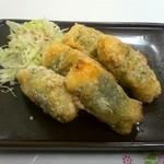 味楽 - ササミのチーズ竜田揚げ