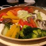 楼蘭 - 蒸し野菜