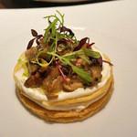 ザ ロビーラウンジ - 松茸タルト フロマージュブラン添え 柚子風味(単品2,400円)