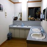 見晴旅館 - 2階の洗面所