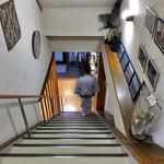 見晴旅館 - 階段