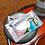 見晴旅館 - 客室に用意されていた茶菓子