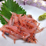 見晴旅館 - 料理写真:夕食(生サクラエビ)