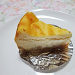 パティスリー タダシ ヤナギ - ベイクド・チーズケーキ