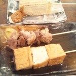 33941751 - おでん(牛スジ、厚揚げ、豆腐)