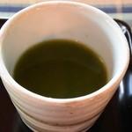 きむら屋 - サービスのお抹茶