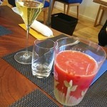 イタリアーノ プント ワイン&幸 - ブラッドオレンジジュース