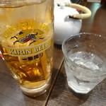 紅虎餃子房 - アイスジャスミン茶