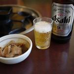 南大門 - ビールに通し~☆