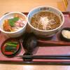 信州そば野 - 料理写真:「カツ丼定食(そば+カツ丼)」 858円+税