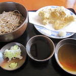 やなか - 「もり」&「笠間産・舞茸の天ぷら」