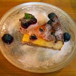 33948033 - ブルーベリーチーズケーキ