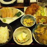 蔵八 - 鱈づくし定食(日替定食)