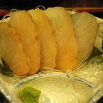 蔵八 - 鱈刺身