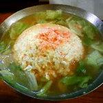 中華料理 上海人家 - スープチャーハン