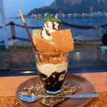 blue sea do cafe KHU☆KAN - コーヒーゼリーパフェ