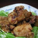 楽酒楽肴 越冬 - 日本酒にも合う!大人気、塩麹鶏のから揚げ