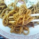 堀添食堂 - 那珂湊焼きそば¥400麺アップ