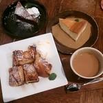 カフェフーノ - ガトーショコラ、ニューヨークチーズケーキ、フレンチトースト