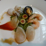 メヒコ - デリシャスコース~魚介のオードブル マリネ仕立て