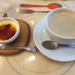 ファミーユ - ホットコーヒー&クレーム・ブリュレ