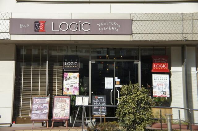 Trattoria&Pizzeria LOGIC 横浜 - ハマボールのビル一階