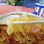 中華そば 金ちゃん - 麺リフト