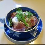 コアンドル - 生ハムと鎌倉野菜と三浦野菜のサラダ