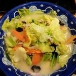 味の民芸 - 長崎ちゃんぽんうどん(野菜大盛)