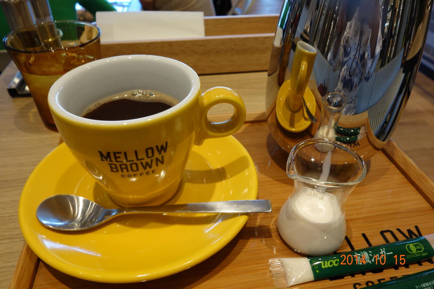 メロウ ブラウン コーヒー イオンモール京都桂川店