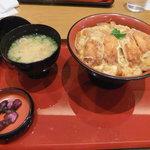 3396184 - ミニかつ丼とお味噌汁