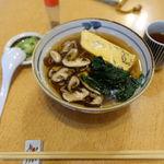 季節料理 伝七 - 料理写真:椎茸そば 756円