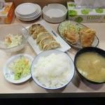 日本橋焼餃子 - 料理写真:餃唐定食