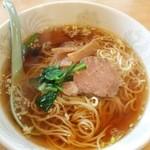 龍燕 - 醤油ラーメン