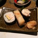 かに道楽 - かに寿司