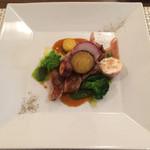 ラディーチェ - 白王豚のロースト 山椒ソース