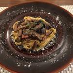 ラディーチェ - 原木椎茸のパスタ