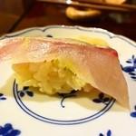 四季彩 鮨楽 - 別注文、シマアジ