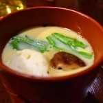 四季彩 鮨楽 - すし会席(鮨楽)、茶碗蒸し
