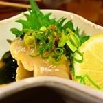 四季彩 鮨楽 - すし会席(鮨楽)、酢の物