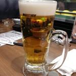 海鮮酒場 えん屋 - 生ビール