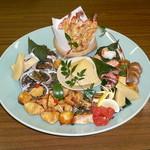 玉幸 - 料理写真:高級食材を使った少しオシャレなオードブルを記念の日に・・・