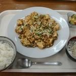 なかざ家 - マーボー豆腐