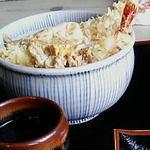 お加山 - 天丼セット