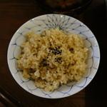 つどい - メインの玄米