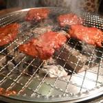 味覚園 - 炭火です☆